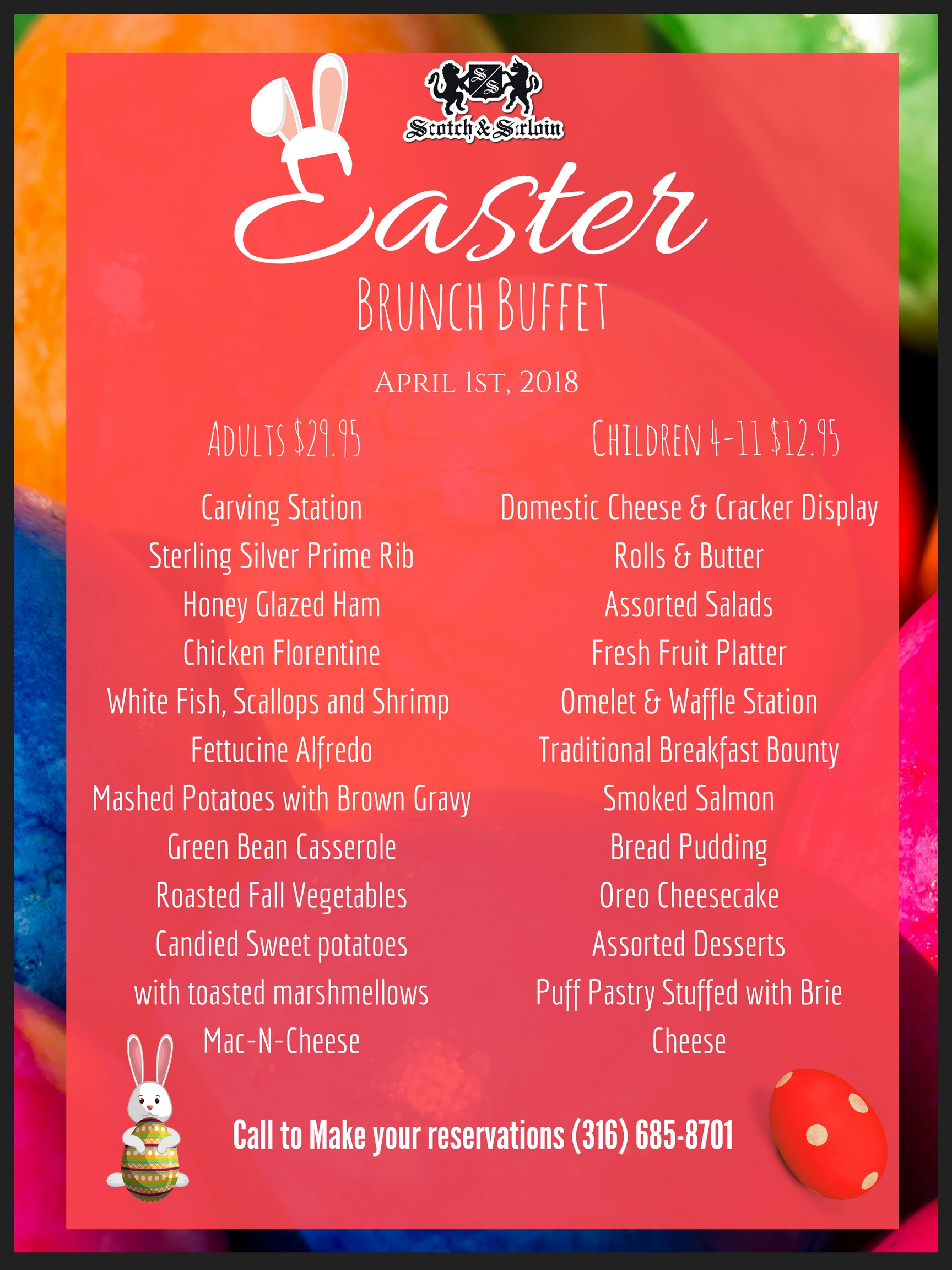 easter brunch poster